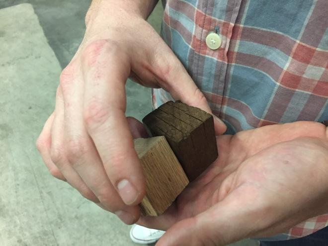 Greenbar Six Woods Cubes